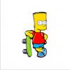 """Купить значок """"Bart Simpson"""" на одежду в Минске"""