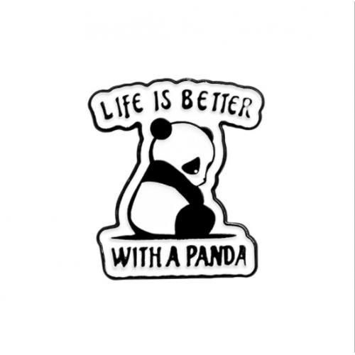 """Купить значок """"Панда""""на одежду в Минске"""