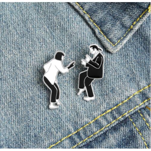 """Купить значок """"Криминальное чтиво"""" на одежду в Минске"""