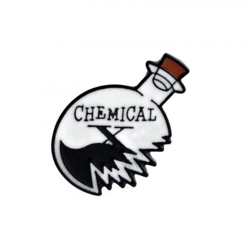 "Купить значок ""Chemical""  29 х 19 мм на одежду в Минске"