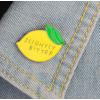 "Купить значок ""Лимон"" 20 х 30 мм на одежду в Минске"