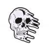 """Купить значок """"Расплывающийся череп"""" 35 х 37 мм на одежду в Минске"""