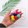 Купить цветные помпоны 15 мм в Минске