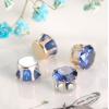 Купить пришивные камни - стразы в цапах (стекло) 8 мм в Минске
