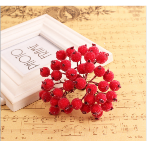 Декоративные ягоды 12 мм, 38-40 штук