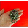 """Ручка """"Голова льва"""" для шкатулок бронза"""