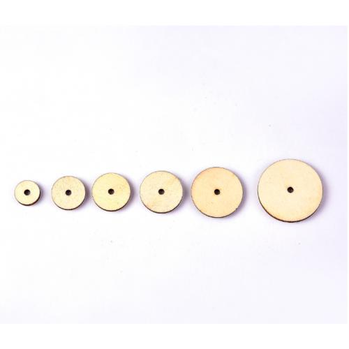 Диски из фанеры для мягких игрушек 20 мм