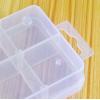 Купить контейнер для бисера, 8 секций, 13.7 x 6.8 см в Минске