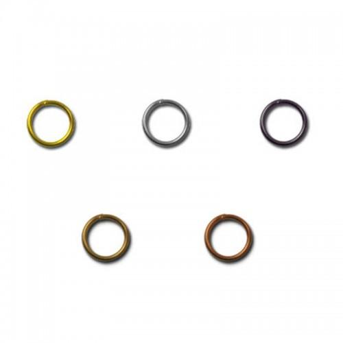 Кольцо для бус 3.5-4 мм серебро