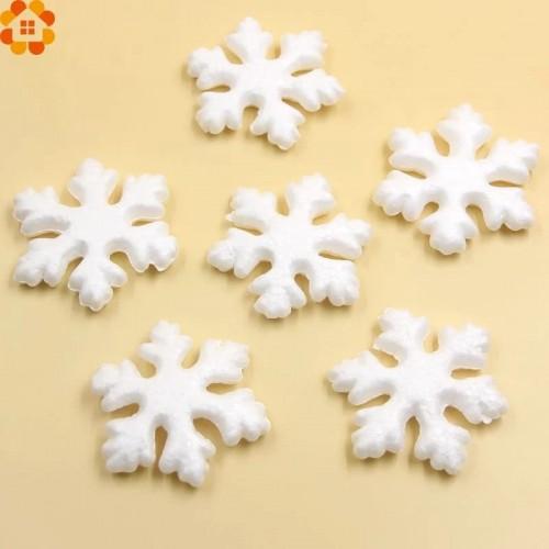 Заготовка снежинка из пенопласта 7 см