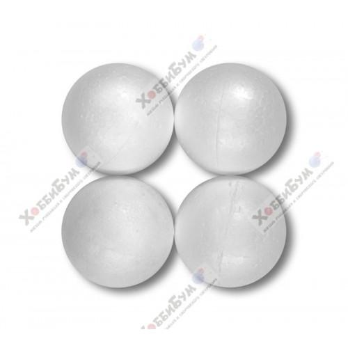 Заготовки шары из пенопласта 5.5 см