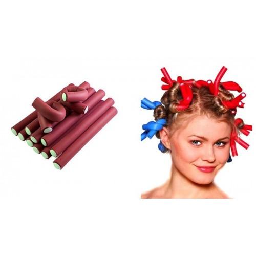 Купить бигуди бумеранги 24 см/10 мм для волос в Минске