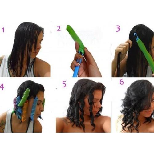 Купить бигуди Hair Wavz 45 см 18 штук для волос в Минске