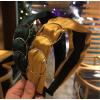 Купить широкий обруч для волос с металлическими кольцами в Минске