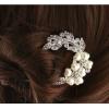 Шпилька для волос с украшением
