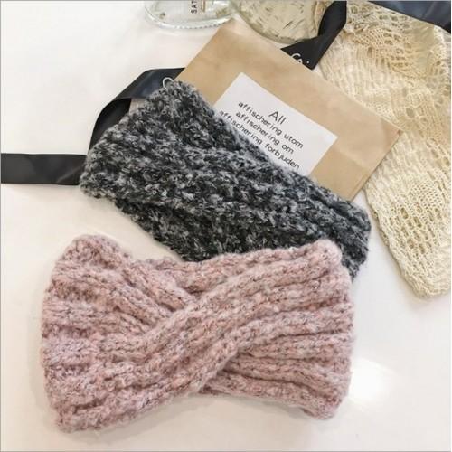 Купить вязаная повязка на голову в Минске.