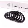 Купить резинка для волос спиральная 50 мм (черный) в Минске