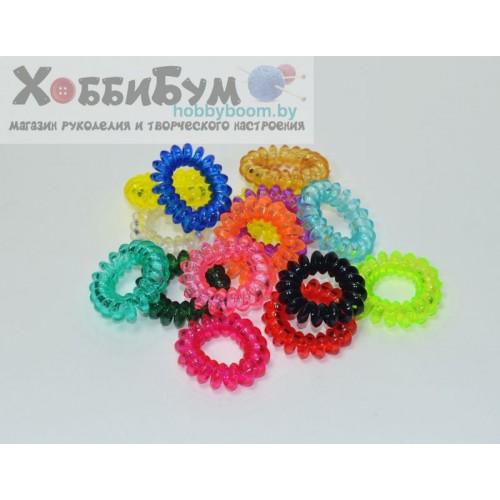 Купить резинки для волос спиральные 40 мм в Минске