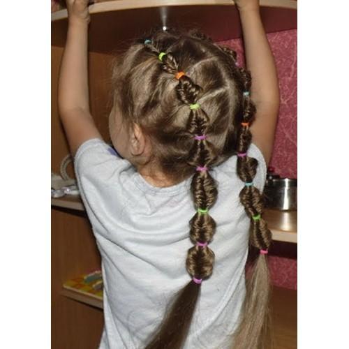 Купить силиконовые резинки для косичек 5 гр в Минске