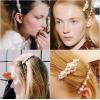 Купить невидимка для волос с бусинами в Минске