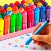 Маркеры, фломастеры и цветные карандаши