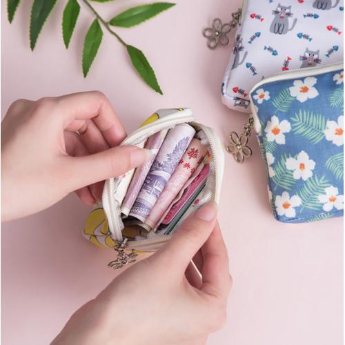 Купить монетницу-пенал на молнии, с принтом в Минске