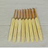 Купить крючок для вязания с деревянной ручкой d 2.5 - 6.0 мм 14 см в интернет-магазине