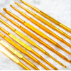 Купить крючок для вязания двусторонний металл d 2.5-3.5 мм в интернет-магазине