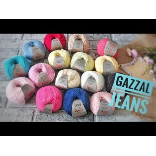 Купить пряжа GAZZAL JEANS-GZ, Газзал Джинс в Минске в интернет-магазине