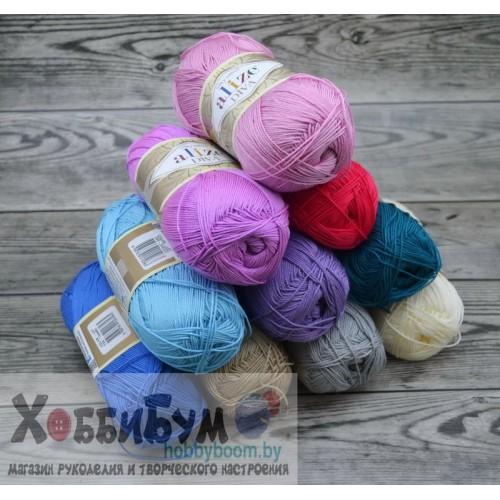 Купить пряжа Alize DIVA  silk effect, Ализе в Минске в интернет-магазине