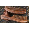 Купить расческу из сандалового дерева с широкими зубьями в Минске