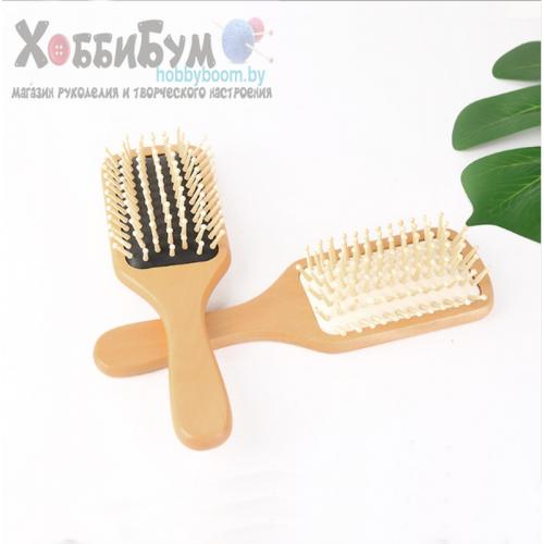 Купить расческа для волос массажная, деревянная в Минске