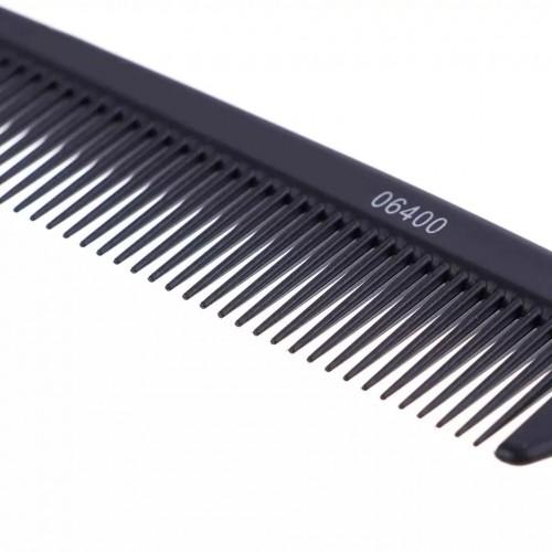 Купить расческа для волос с металлическим разделителем прядей в Минске