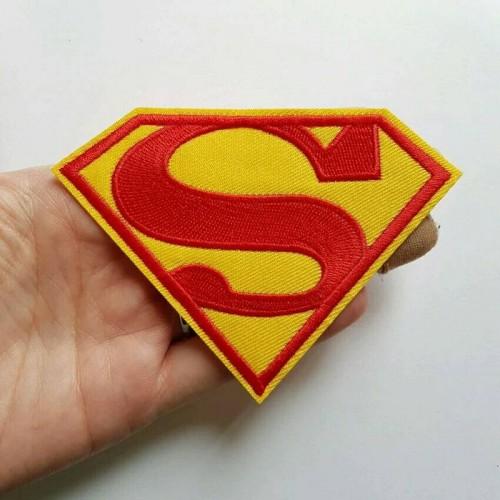 """Купить термонаклейка на одежду """"Супермен"""" 7.5 х 5 см в Минске"""