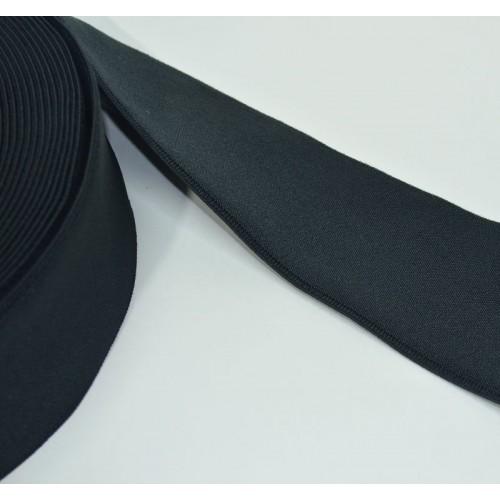 Лента эластичная бандажная 50 мм черный