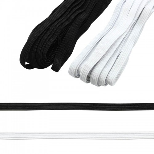 Лента эластичная (резинка - продежка) 9 мм